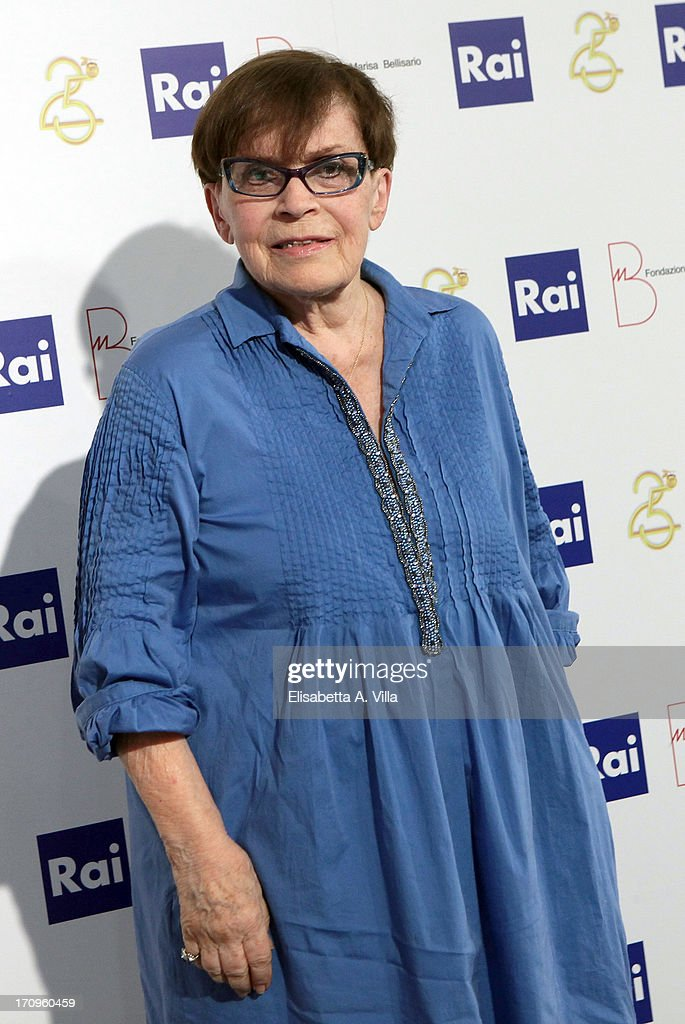 Actress Franca Valeri attends Premio Belisario 2013 at Dear RAI studios on June 20, 2013 in Rome, Italy.