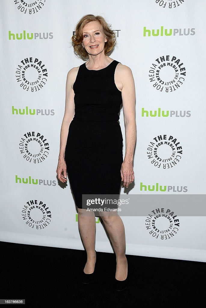 Actress Frances Conroy arrives at the 30th Annual PaleyFest: The William S. Paley Television Festival - Closing Night Presentation honoring 'American Horror Story' at the Saban Theatre on March 15, 2013 in Beverly Hills, California.