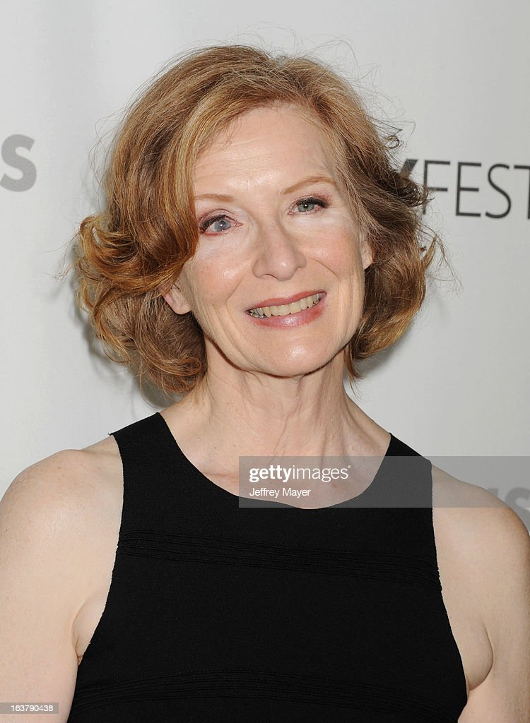 Actress Frances Conroy arrives at the 30th Annual PaleyFest: The William S. Paley Television Festival - Closing Night Presentation honoring 'American Horror Story' at Saban Theatre on March 15, 2013 in Beverly Hills, California.