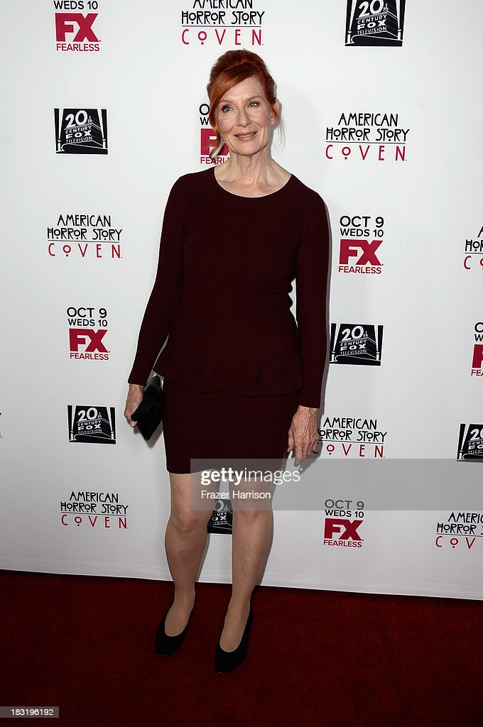 Actress Frances Conroy arrives at the premiere of FX's 'American Horror Story: Coven' at Pacific Design Center on October 5, 2013 in West Hollywood, California.