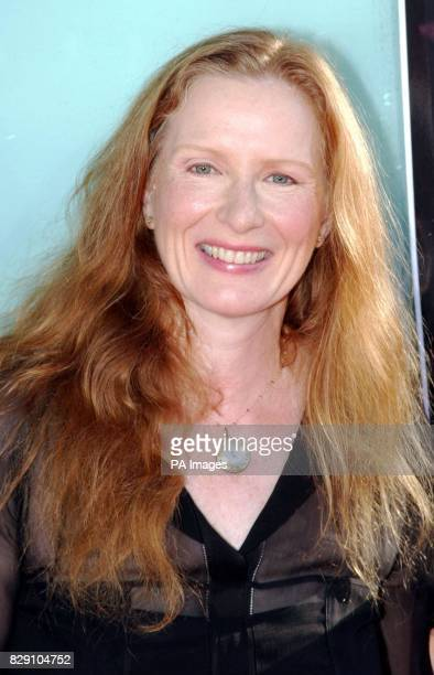Actress Frances Conroy arrives for the premiere of her latest film Catwoman Monday 19 July 2004 held at the Cinerama Dome Theatre Los Angeles USA