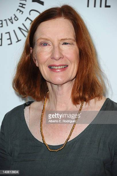 Actress Frances Conroy arrives to The Paley Center for Media's PaleyFest 2012 honoring 'American Horror Story' at Saban Theatre on March 2 2012 in...