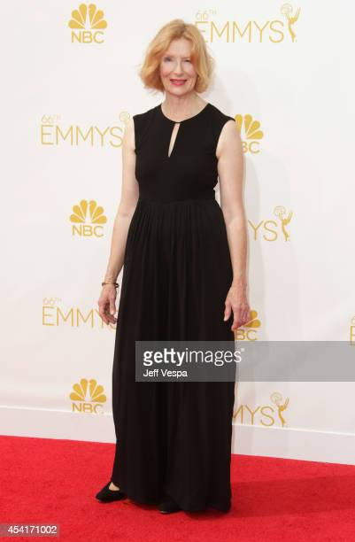 Actress Frances Conroy attends the 66th Annual Primetime Emmy Awards held at Nokia Theatre LA Live on August 25 2014 in Los Angeles California