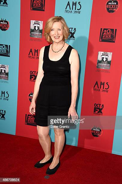 Actress Frances Conroy attends the 'American Horror Story Freak Show' Los Angeles premiere at TCL Chinese Theatre IMAX on October 5 2014 in Hollywood...