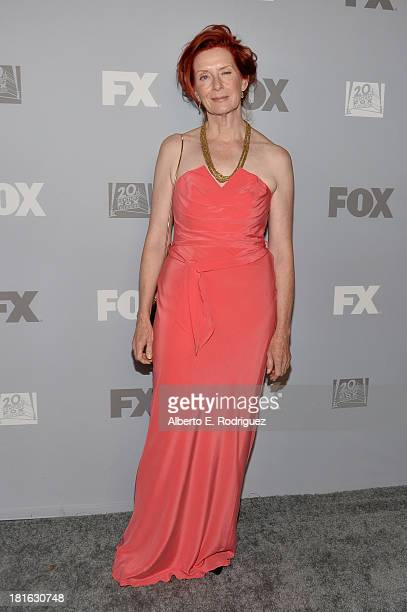 Actress Frances Conroy attends the FOX Broadcasting Company Twentieth Century FOX Television and FX Post Emmy Party at Soleto on September 22 2013 in...