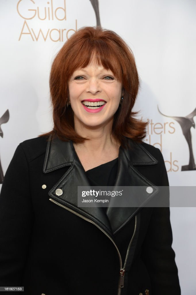 Actress Frances Fisher arrives at the 2013 WGAw Writers Guild Awards at JW Marriott Los Angeles at L.A. LIVE on February 17, 2013 in Los Angeles, California.