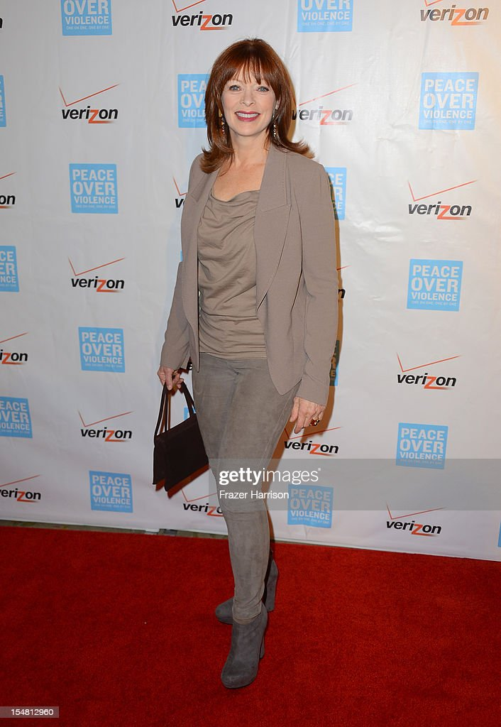 Actress Frances Fisher arrives at the 41st Annual Peace Over Violence Humanitarian Awards held at Beverly Hills Hotel on October 26, 2012 in Beverly Hills, California.