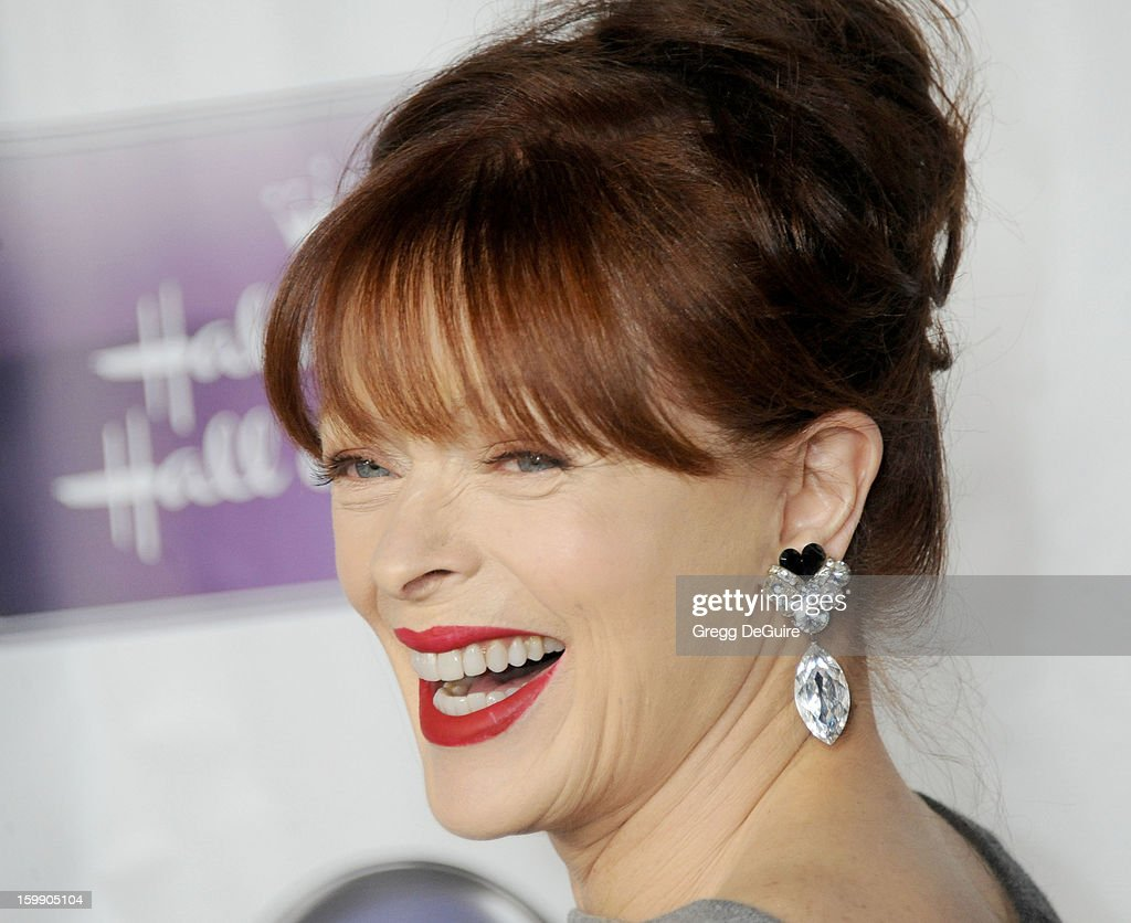 Actress Frances Fisher arrives at the Los Angeles premiere of 'The Makeover' at Fox Studio Lot on January 22, 2013 in Century City, California.
