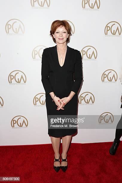 Actress Frances Fisher attends 27th Annual Producers Guild Of America Awards at the Hyatt Regency Century Plaza on January 23 2016 in Century City...
