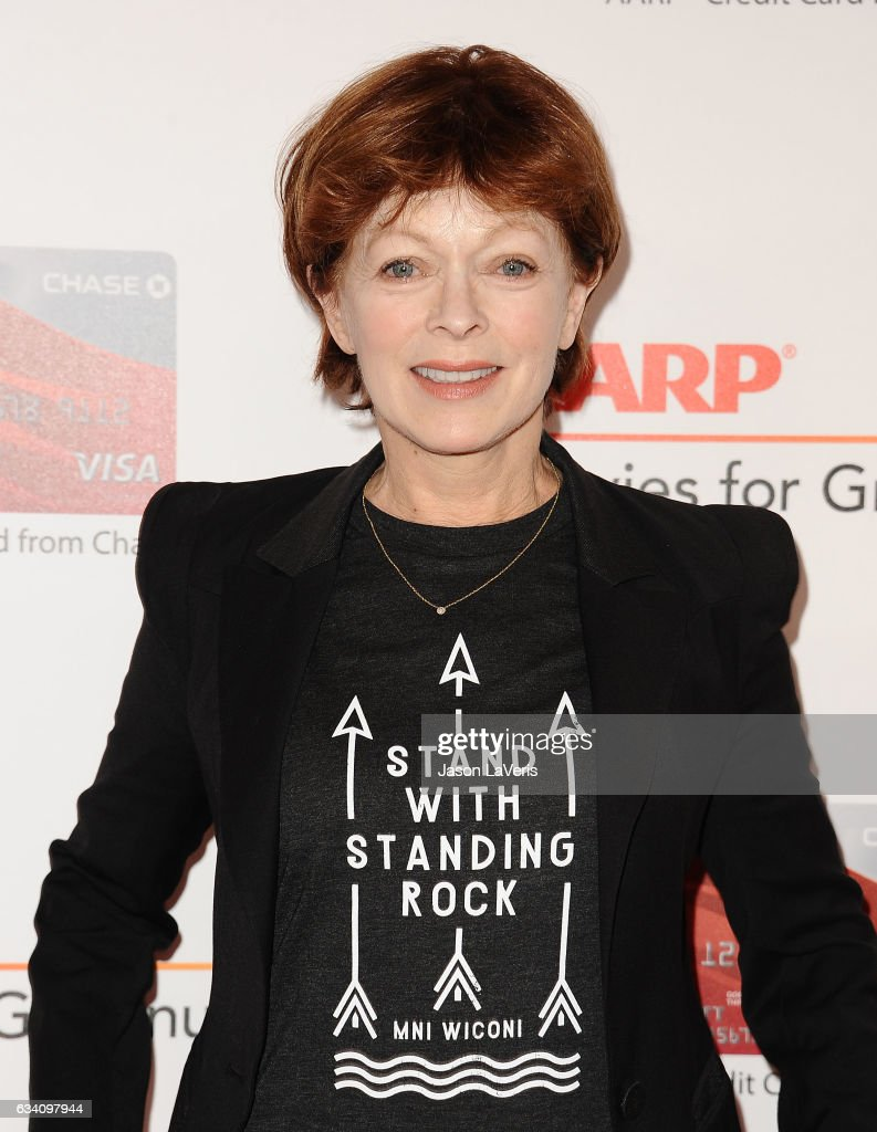 Actress Frances Fisher attends AARP's 16th annual Movies For Grownups Awards at the Beverly Wilshire Four Seasons Hotel on February 6, 2017 in Beverly Hills, California.