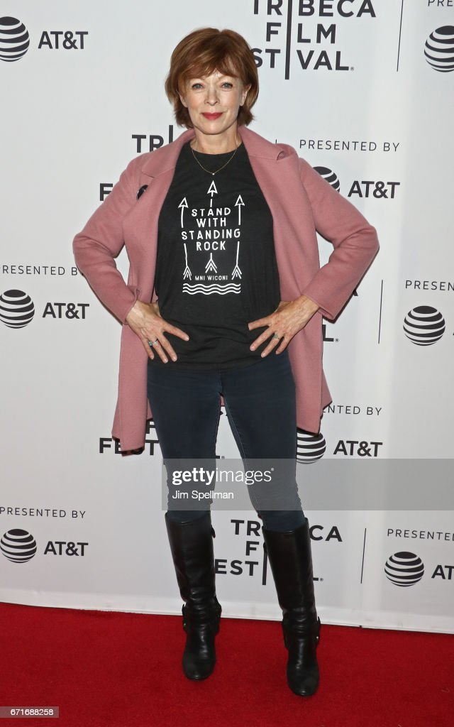 Actress Frances Fisher attends 'Awake: A Dream From Standing Rock' during the 2017 Tribeca Film Festival at Cinepolis Chelsea on April 22, 2017 in New York City.
