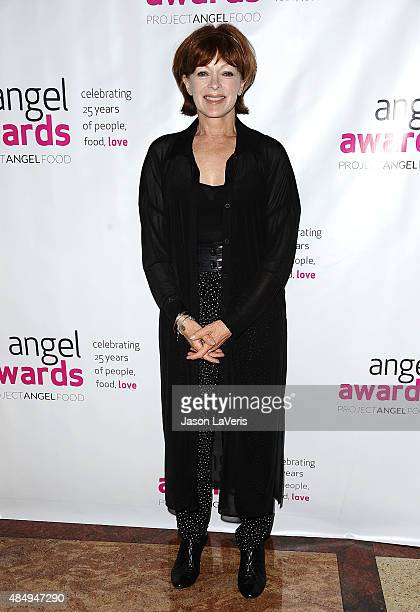 Actress Frances Fisher attends Project Angel Food's 25th Angel Awards gala at Taglyan Cultural Complex on August 22 2015 in Hollywood California