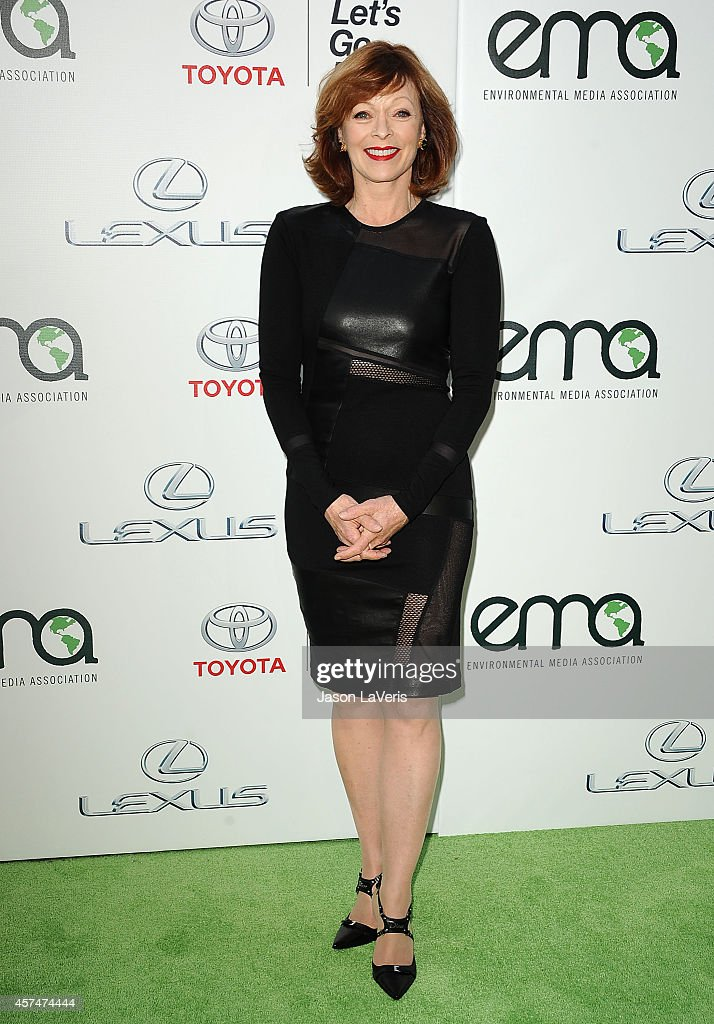 Actress <a gi-track='captionPersonalityLinkClicked' href=/galleries/search?phrase=Frances+Fisher&family=editorial&specificpeople=211520 ng-click='$event.stopPropagation()'>Frances Fisher</a> attends the 2014 Environmental Media Awards at Warner Bros. Studios on October 18, 2014 in Burbank, California.