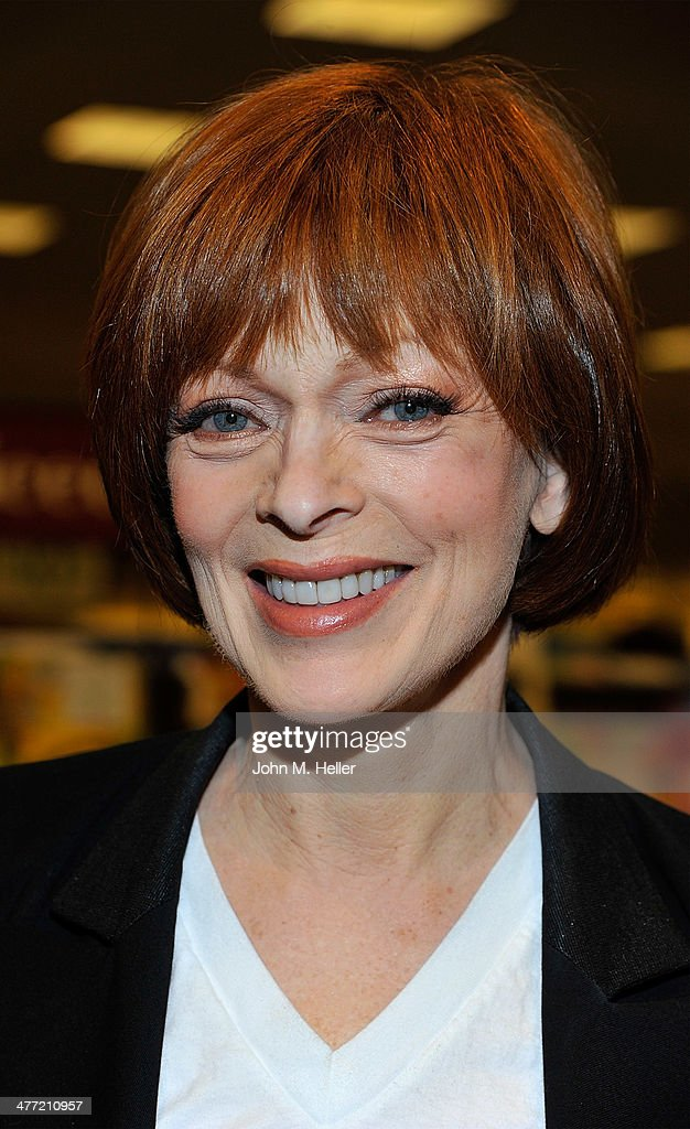 Actress <a gi-track='captionPersonalityLinkClicked' href=/galleries/search?phrase=Frances+Fisher&family=editorial&specificpeople=211520 ng-click='$event.stopPropagation()'>Frances Fisher</a> attends the Annabelle Gurwitch book signing for 'I See You Made An Effort' at Barnes & Noble bookstore at The Grove on March 7, 2014 in Los Angeles, California.