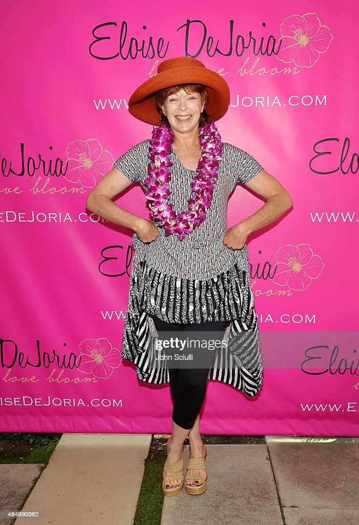 Actress <a gi-track='captionPersonalityLinkClicked' href=/galleries/search?phrase=Frances+Fisher&family=editorial&specificpeople=211520 ng-click='$event.stopPropagation()'>Frances Fisher</a> attends the Eloise Dejoria Fashionwear Launch at a Private Residence on August 22, 2015 in Malibu, California.