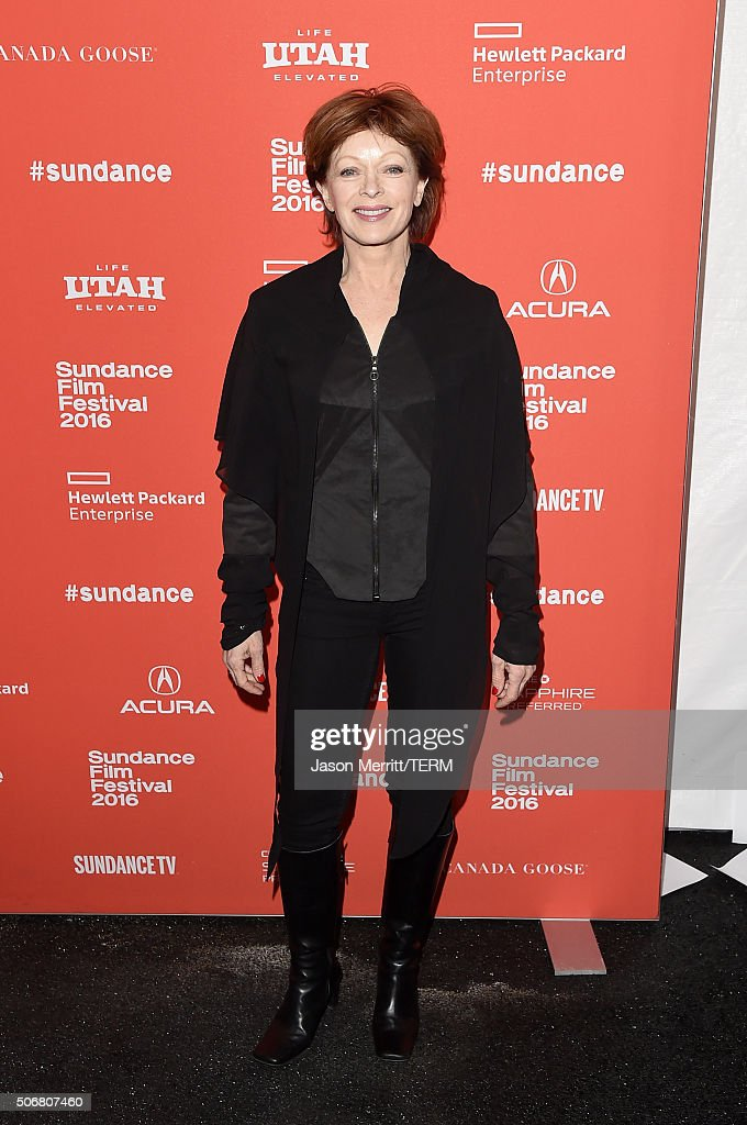 Actress <a gi-track='captionPersonalityLinkClicked' href=/galleries/search?phrase=Frances+Fisher&family=editorial&specificpeople=211520 ng-click='$event.stopPropagation()'>Frances Fisher</a> attends the 'Outlaws & Angels' Premiere during the 2016 Sundance Film Festival at Library Center Theater on January 25, 2016 in Park City, Utah.