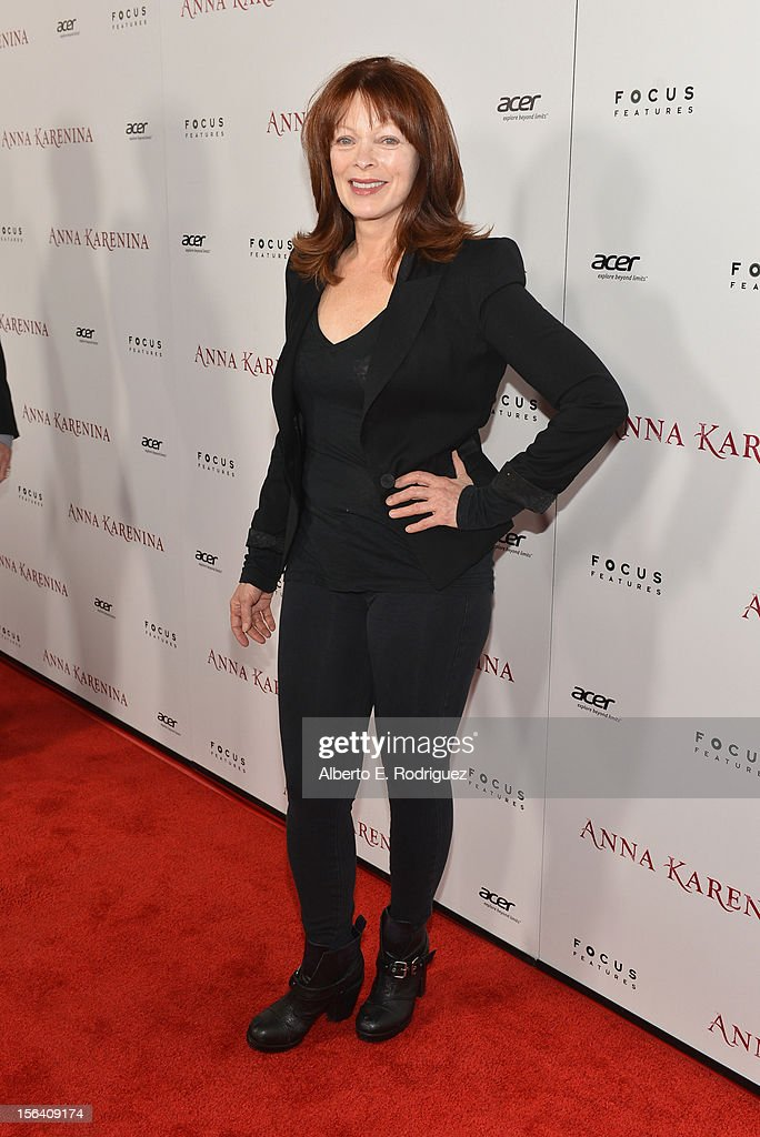 Actress Frances Fisher attends the premiere of Focus Features' 'Anna Karenina' held at ArcLight Cinemas on November 14, 2012 in Hollywood, California.