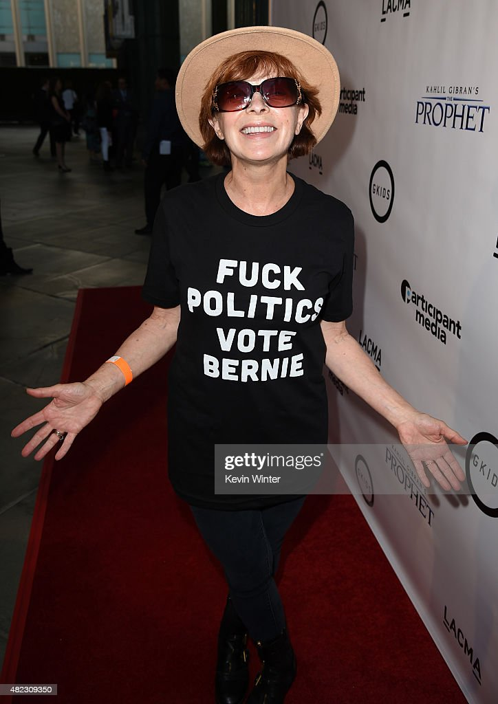 Actress <a gi-track='captionPersonalityLinkClicked' href=/galleries/search?phrase=Frances+Fisher&family=editorial&specificpeople=211520 ng-click='$event.stopPropagation()'>Frances Fisher</a> attends the screening of GKIDS' 'Kahlil Gibran's the Prophet' at Bing Theatre at LACMA on July 29, 2015 in Los Angeles, California.