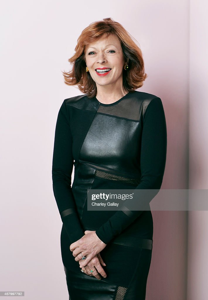 Actress <a gi-track='captionPersonalityLinkClicked' href=/galleries/search?phrase=Frances+Fisher&family=editorial&specificpeople=211520 ng-click='$event.stopPropagation()'>Frances Fisher</a> poses for a portrait at the Elyse Walker Presents The 10th Anniversary Pink Party Hosted on October 18, 2014 in Santa Monica, California.