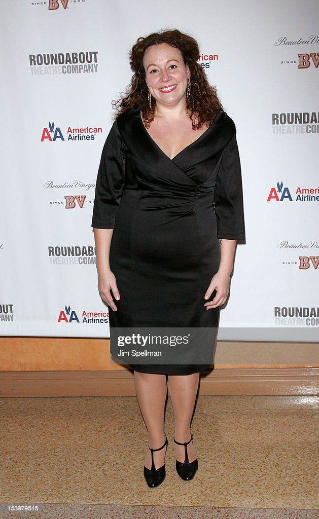 Actress Frances Mercanti-Anthony attends 'Cyrano De Bergerac' Broadway Opening Night After Party at American Airlines Theatre on October 11, 2012 in New York City.