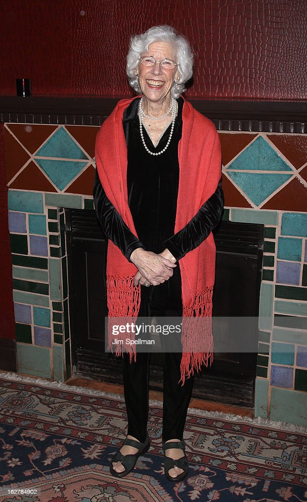 Actress Frances Sternhagen attends 'The Madrid' Opening Night at Red Eye Grill on February 26, 2013 in New York City.