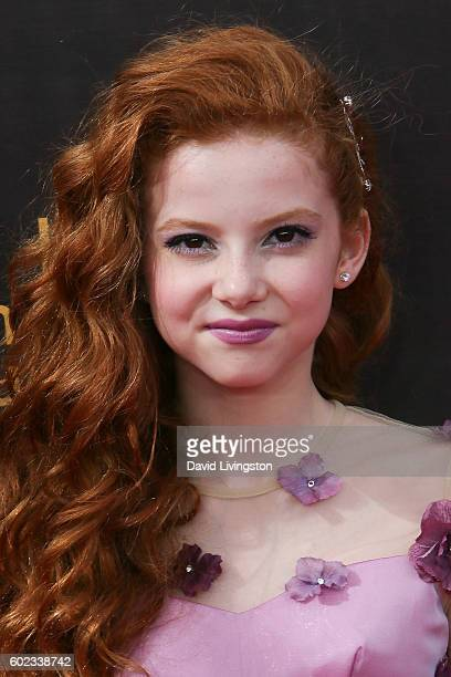 Actress Francesca Capaldi attends the 2016 Creative Arts Emmy Awards Day 1 at the Microsoft Theater on September 10 2016 in Los Angeles California