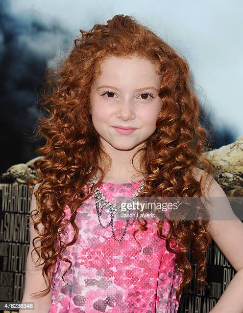 Actress Francesca Capaldi attends the premiere of 'MAX' at the Egyptian Theatre on June 23 2015 in Hollywood California