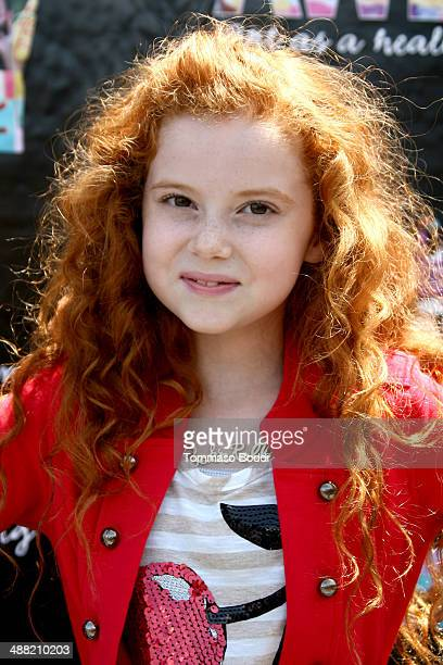 Actress Francesca Capaldi attends the Window Between Worlds presents Art in the Afternoon Family Festival held at the Venice Skills Center on May 4...