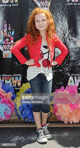 Actress Francesca Capaldi attends the Window Between Worlds presents Art In The Afternoon on May 4 2014 in Venice California