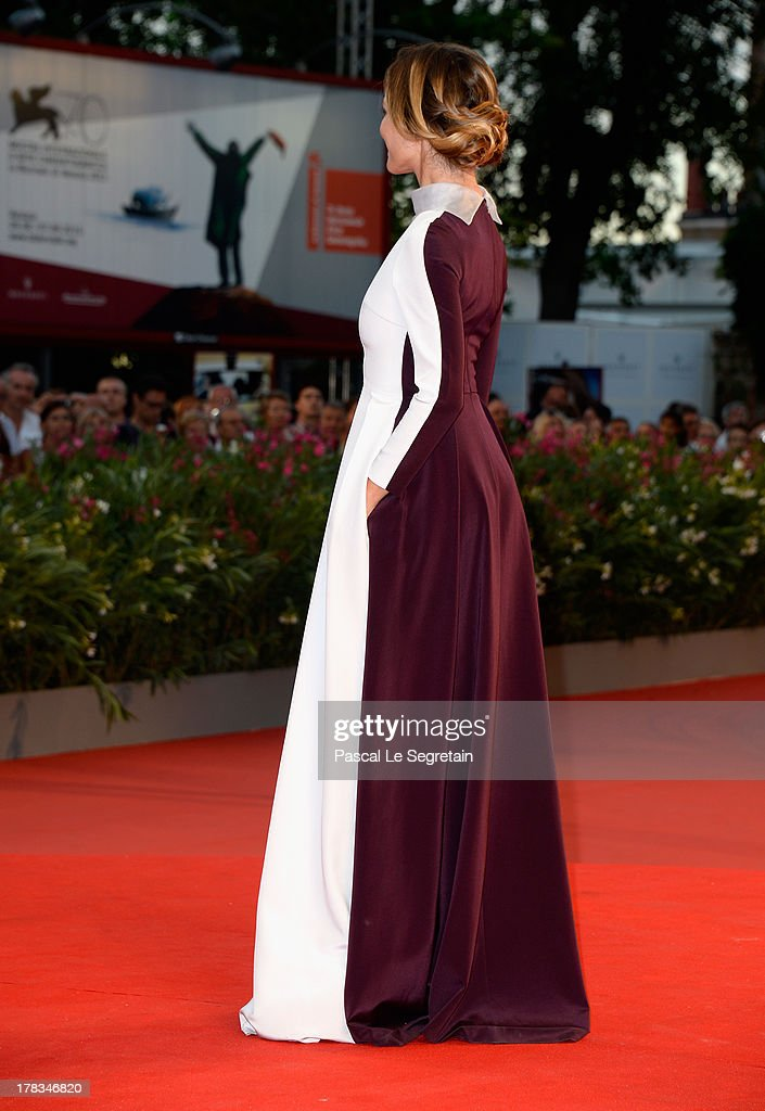 Actress Francesca Cavallin attends the 'Tracks' premiere during the 70th Venice International Film Festival at the Palazzo del Cinema on August 29, 2013 in Venice, Italy.