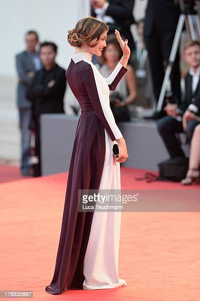 Actress Francesca Cavallin attends 'Tracks' Premiere during the 70th Venice International Film Festival at Sala Grande on August 29 2013 in Venice...