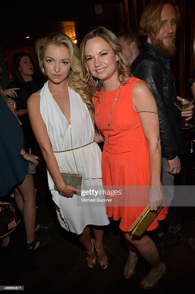 Actress Francesca Eastwood (L) and producer Jessica Gelt attend the Nylon + BCBGeneration May Young Hollywood Party at Hollywood Roosevelt Hotel on May 8, 2014 in Hollywood, California.