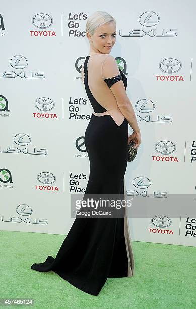 Actress Francesca Eastwood arrives at the 2014 Environmental Media Awards at Warner Bros Studios on October 18 2014 in Burbank California