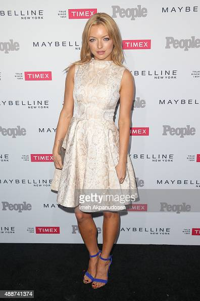 Actress Francesca Eastwood attends People's 'One To Watch' Event at Ysabel on September 16 2015 in West Hollywood California