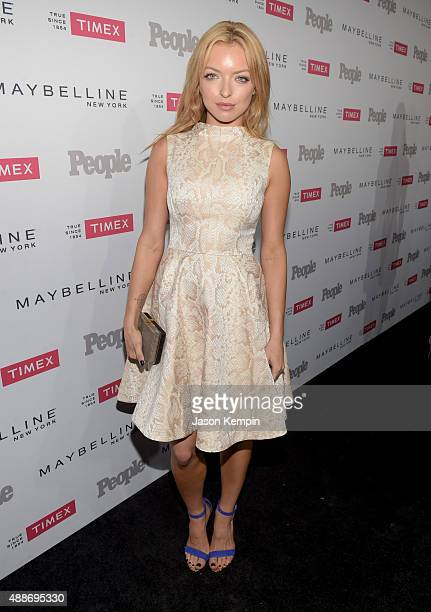 Actress Francesca Eastwood attends PEOPLE's Ones To Watch Event on September 16 2015 in West Hollywood California