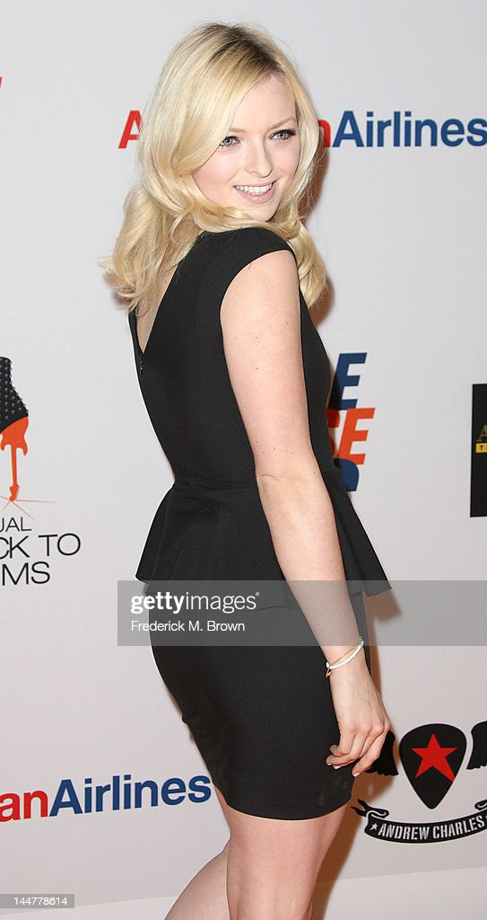 Actress Francesca Eastwood attends the 19th Annual Race To Erase MS - 'Glam Rock To Erase MS' event at the Hyatt Regency Century Plaza on May 18, 2012 in Century City, California.