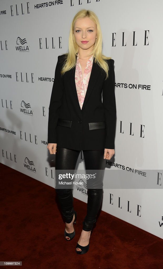 Actress Francesca Eastwood attends the ELLE's Women in Television Celebration at Soho House on January 24, 2013 in West Hollywood, California.