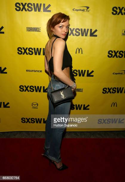 Actress Francesca Eastwood attends the premiere of 'MFA' during 2017 SXSW Conference and Festivals at Stateside Theater on March 13 2017 in Austin...