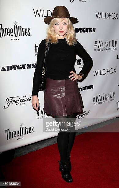 Actress Francesca Eastwood attends the Wayke Up Fundraiser presented by Wildfox and Ladygunn Magazine hosted by Nikki Reed at Sofitel Hotel on...