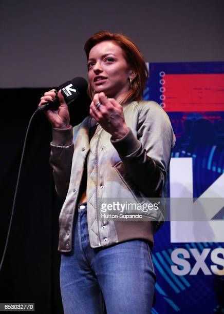 Actress Francesca Eastwood speaks onstage at the premiere of 'MFA' during 2017 SXSW Conference and Festivals at Stateside Theater on March 13 2017 in...