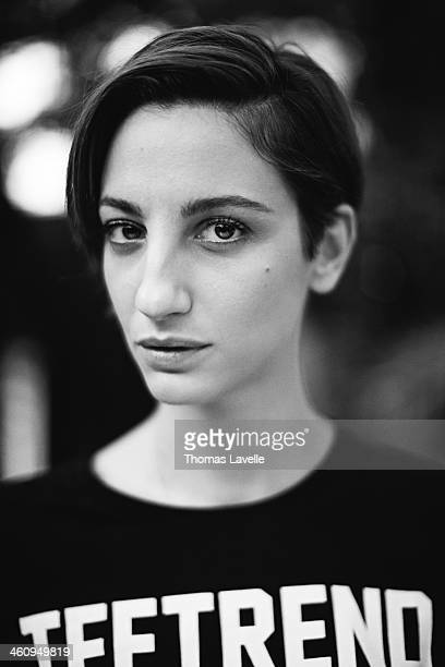 Actress Francesca Inaudi is photographed for Self Assignment during the 8th Rome Film Festival on November 9 2013 in Rome Italy