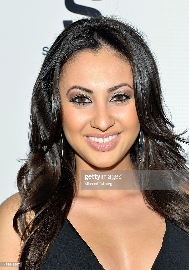 Actress Francia Raisa attends the Unlikely Heroes Red Carpet Spring Benefit held at SupperClub Los Angeles on March 20, 2014 in Los Angeles, California.