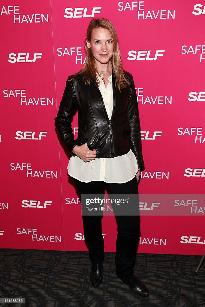 Actress Francie Swift attends a New York screening of 'Safe Haven' at Landmark Sunshine Cinema on February 11, 2013 in New York City.