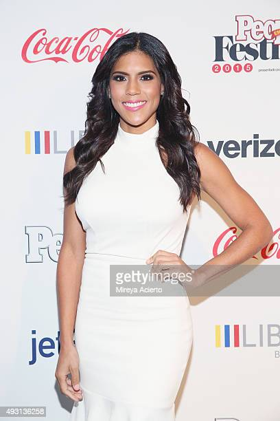 Actress Francisca Lachapel attends the 4th Annual People en Espanol Festival at Jacob Javitz Center on October 17 2015 in New York City