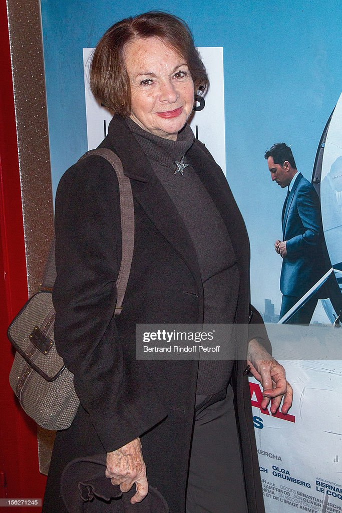 Actress Francoise Arnoul attends 'Le Capital' premiere at Gaumont Parnasse on November 12, 2012 in Paris, France.