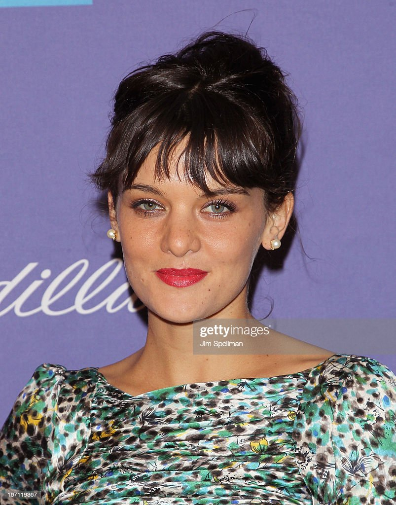 Actress Frankie Shaw attends the screening of 'The Pretty One' during the 2013 Tribeca Film Festival at SVA Theater on April 20, 2013 in New York City.