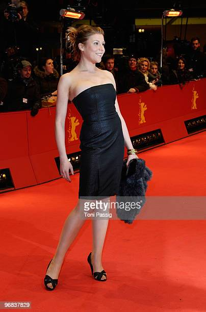 Actress Franziska Weisz attends the 'Jud Suess Film Ohne Gewissen' Premiere during day eight of the 60th Berlin International Film Festival at the...