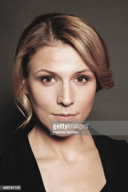 Actress Franziska Weisz by Photographer Francois Berthier for the Contour Collection poses during the 64th Berlinale International Film Festival on...