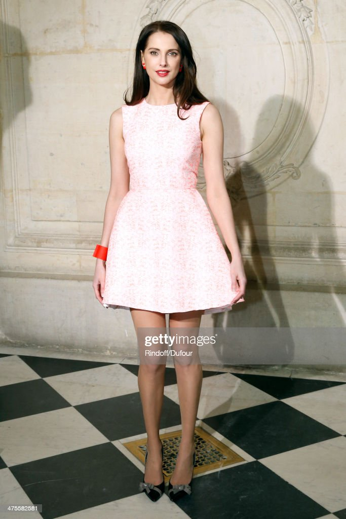 Actress Frederic Bel attends the Christian Dior show as part of the Paris Fashion Week Womenswear Fall/Winter 2014-2015 on February 28, 2014 in Paris, France.