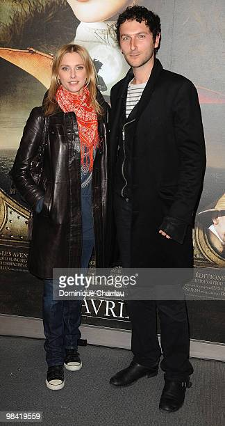 Actress Frederique Bel and friend attend the premiere of the Luc Besson's film 'Les Aventures Extraordinaires d'Adele BlancSec' at Cinema UGC...